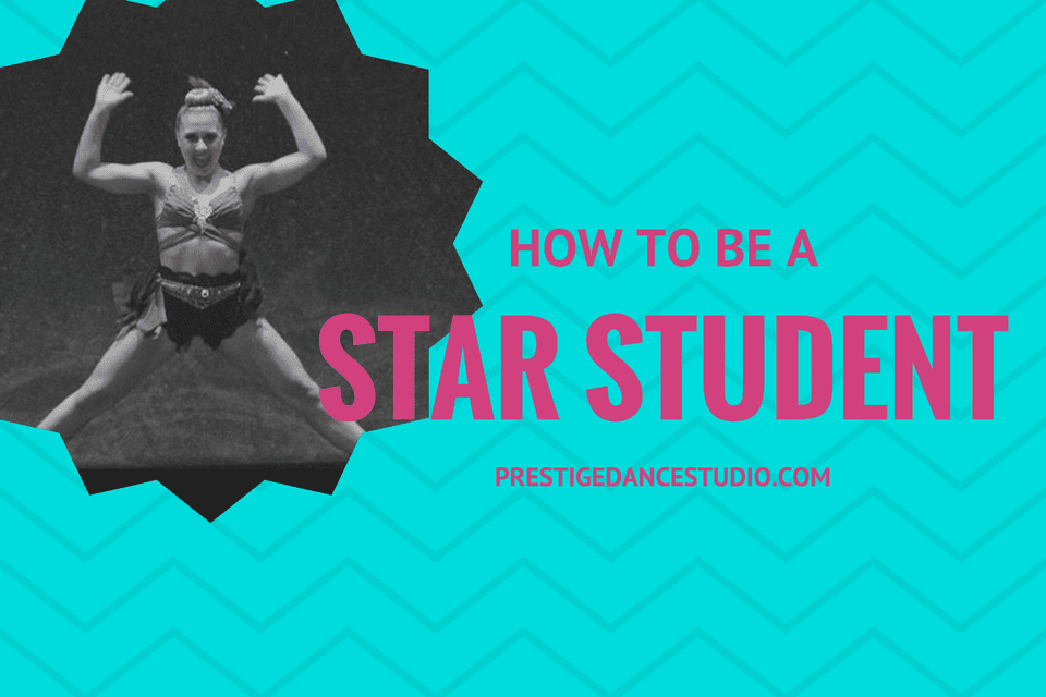 Great advice on how to be star dancer in class.