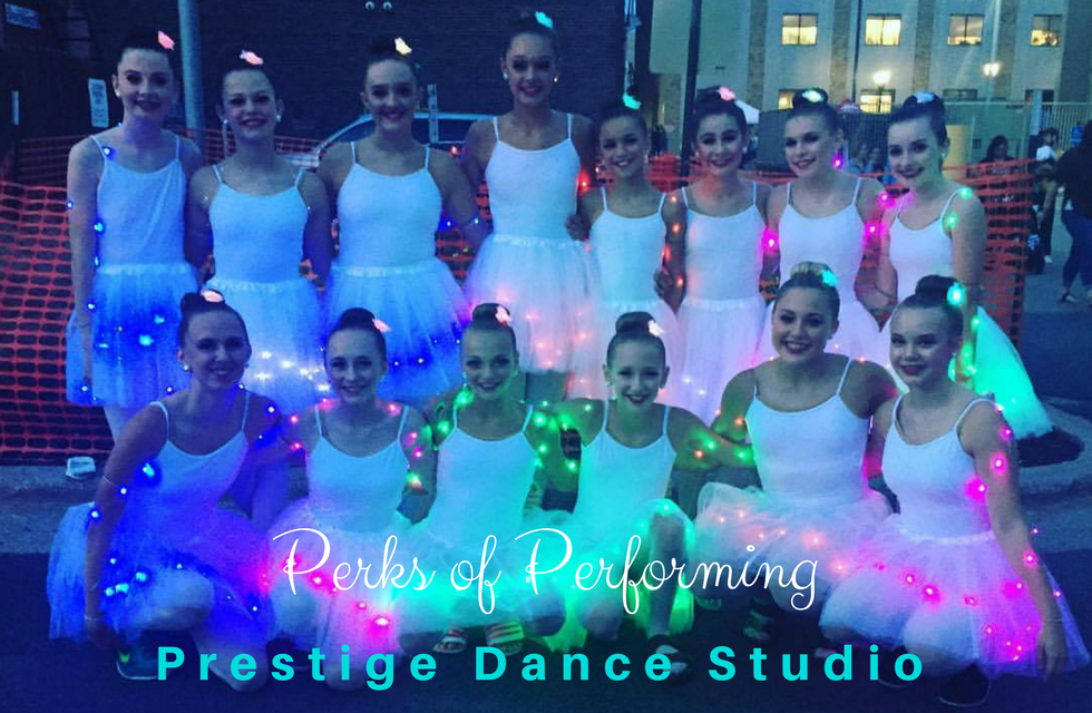 Perks of Performing