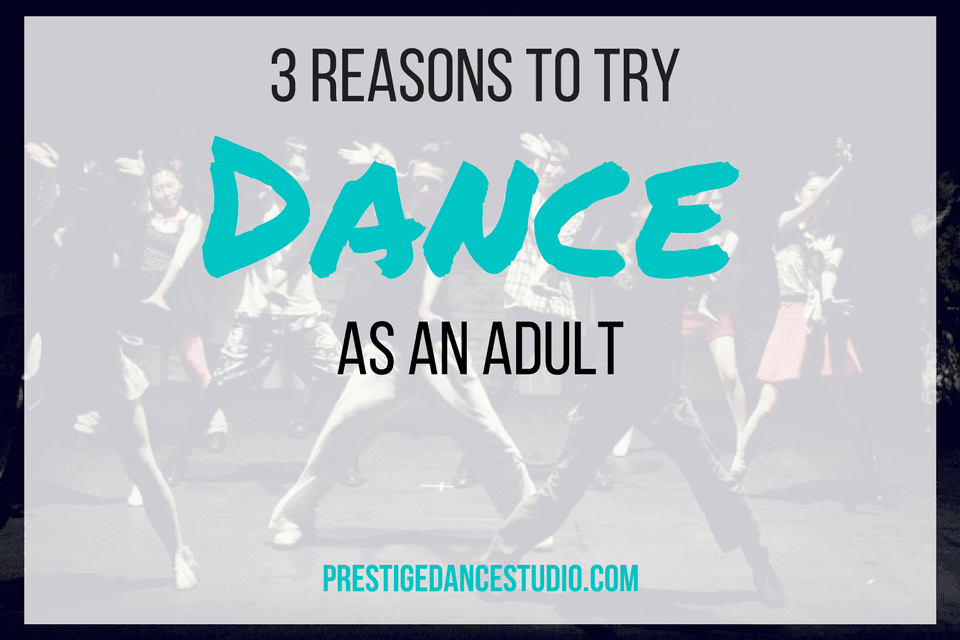 Why Dance Classes are awesome for adults in Cedar Rapids.