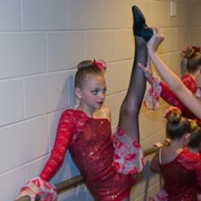 Stretching Back Stage