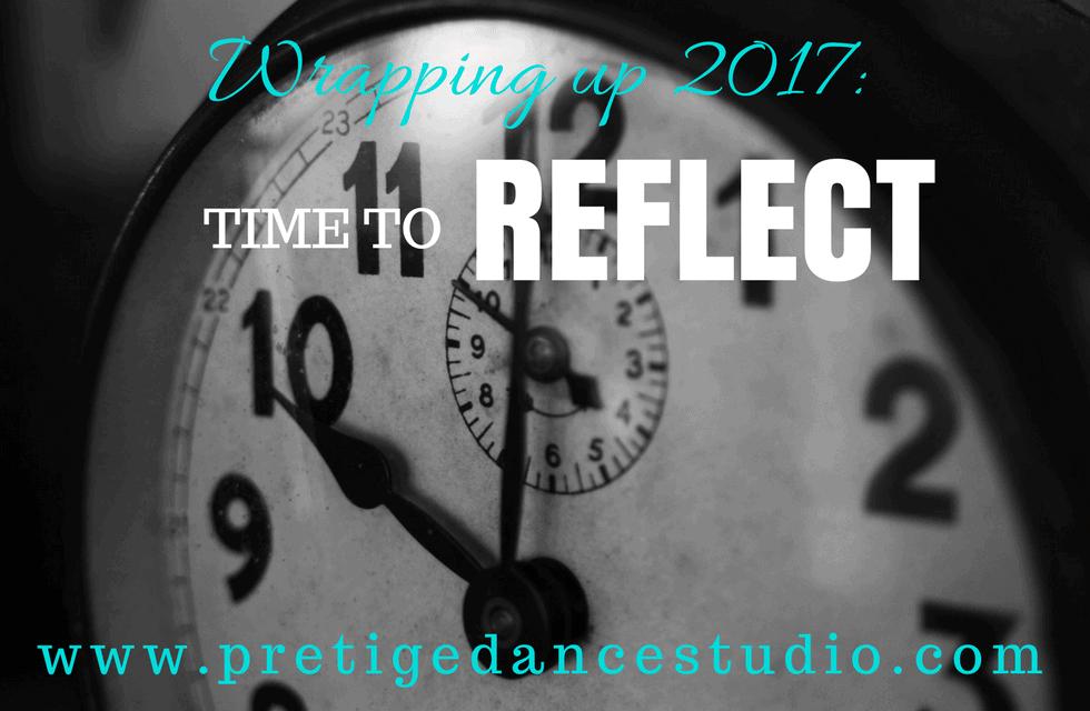 reflect as a dancer